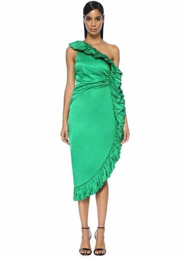 Attico Elbise Yeşil